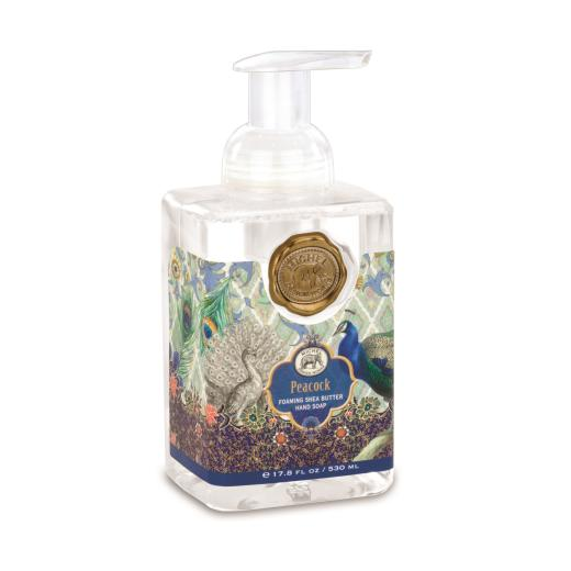 Michel Design Works Foaming Hand Soap Peacock